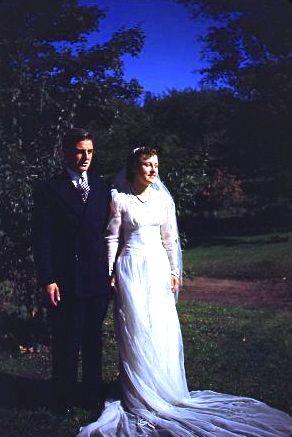 Francis and Glenna Hall, 1943