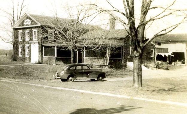 Hall Farmhouse around 1945