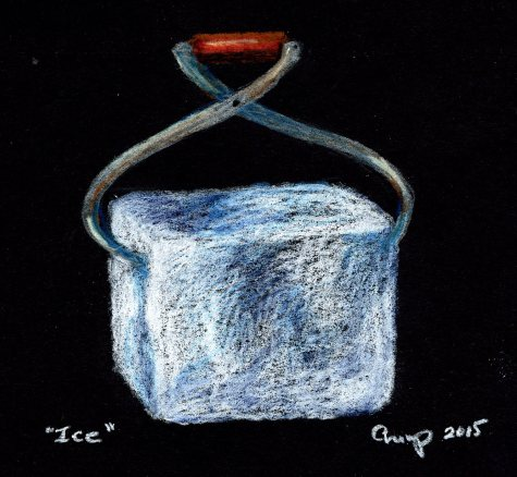 """Ice,"" Carol Crump Bryner, 2015"