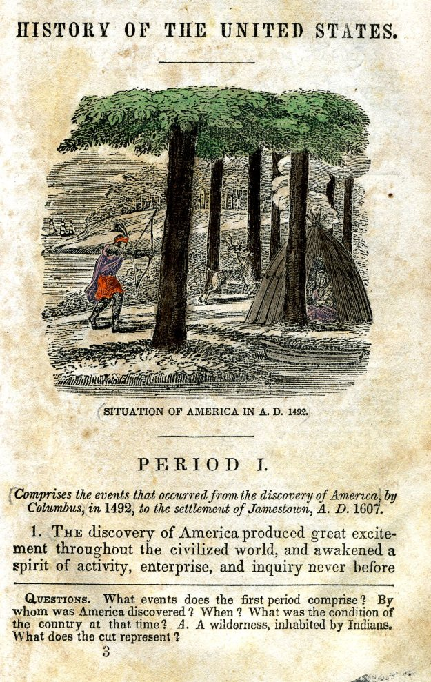 "Page from ""History of the United States"""
