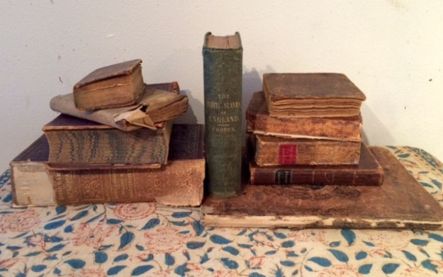 A few old books