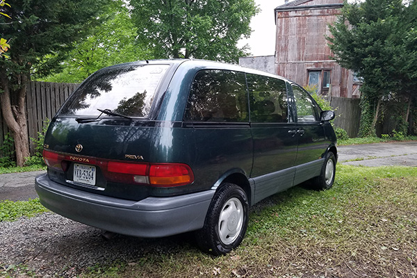 So Owning a Minivan Isn't Cool?: Inside the Toyota Previa