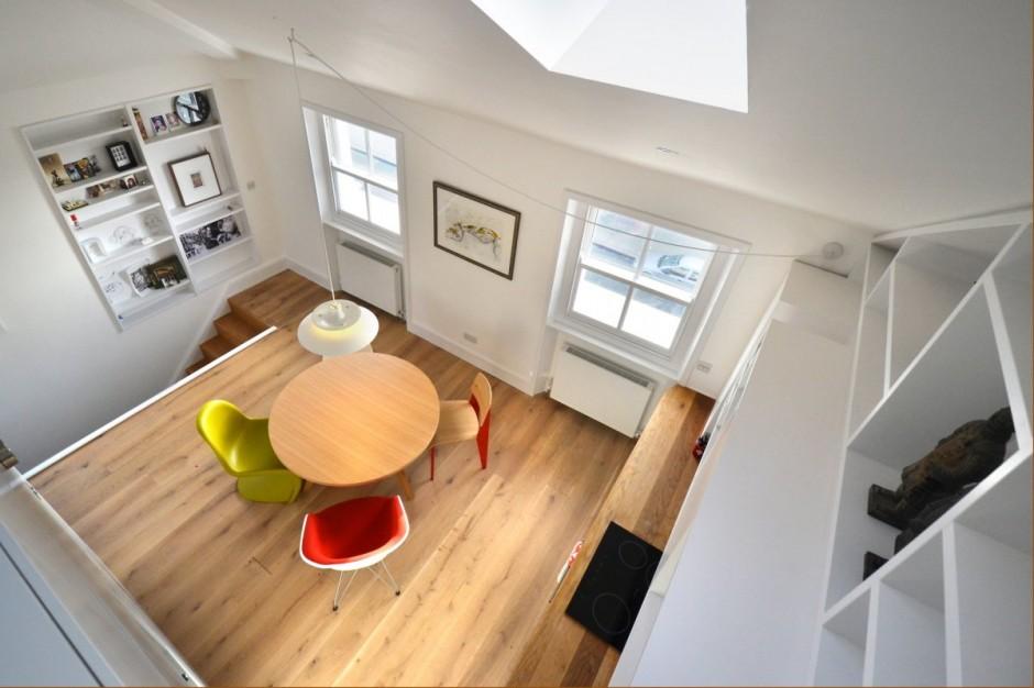 Un piccolo grande loft 4 ambienti in meno di 40 mq  Casait