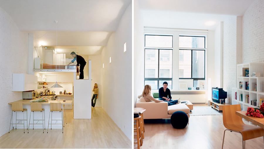 Il monolocale loft  Casait