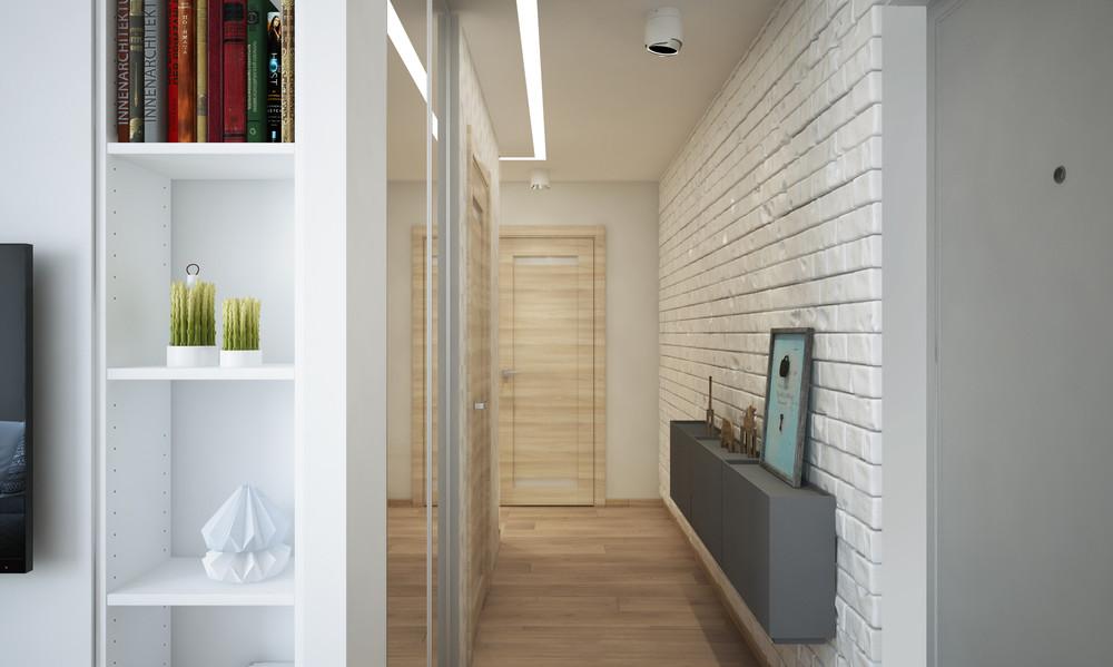 Un bel progetto per arredare un appartamento di 50 mq