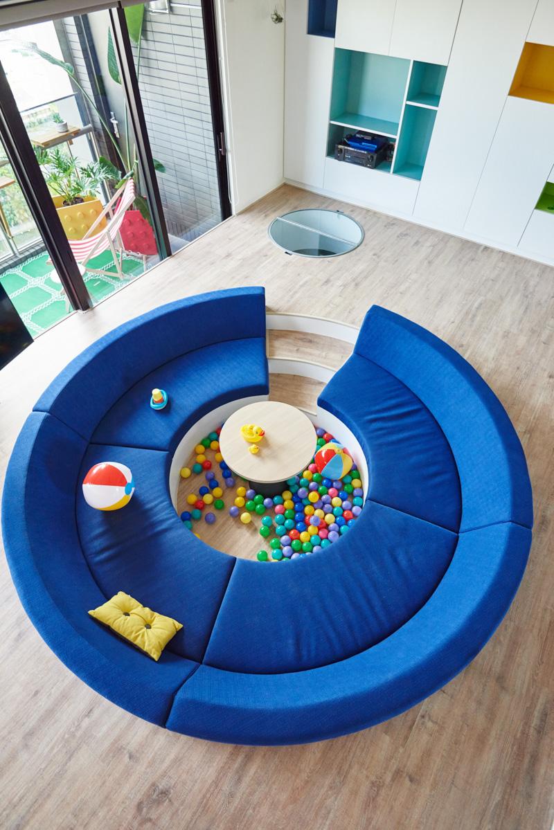 Il paradiso dei bambini lappartamento ispirato al Lego  Casait