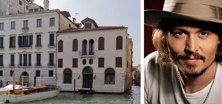 Johnny Depp il gioiello sul Canal Grande in vendita per 10 milioni di euro  Casait