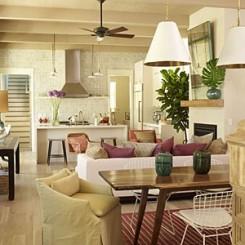 soggiorno multiuso di un appartamento
