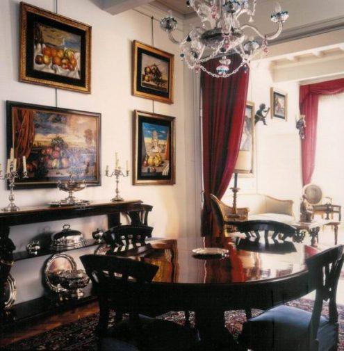 Dimore d' artista abitazione di Giorgio De Chirico