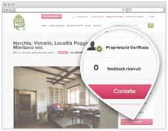 """la pagina di un annuncio di CasaNoi, con la funzione """"Contatta il proprietario"""""""