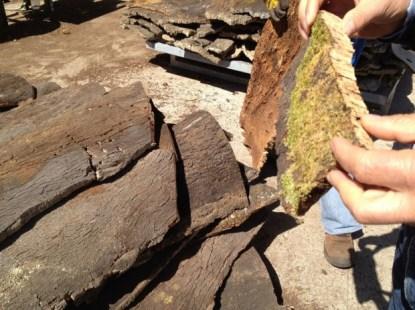 materiali naturali da costruzione: la lavorazione del sughero