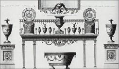 Esempi di arredamento di epoca Neoclassica e Luigi XVI