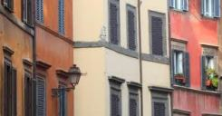 facciate palazzi di Roma