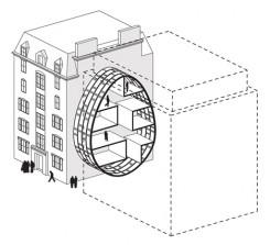 Diagramma - Chelsea Gardens, Londra