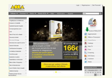 Home del sito di Acca Software