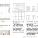 Progetto Design per Cabina armadio di Yasmine Benetti - arredi