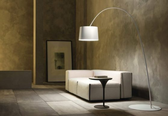 come illuminare casa: Lampada da terra Twiggy Foscarini / Marc Sadler
