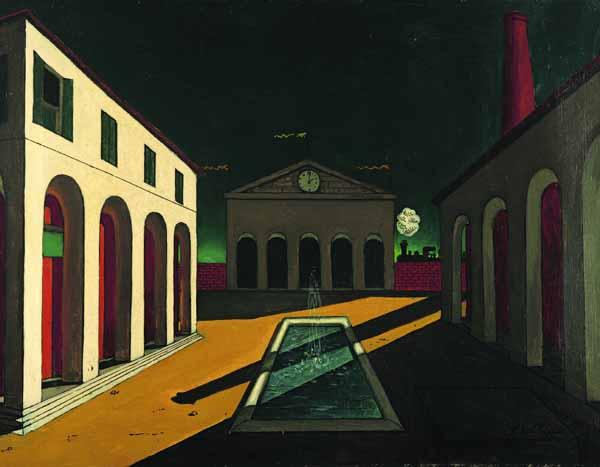 Palazzi dipinti da De Chirico - Sblocca Italia novità sulla casa