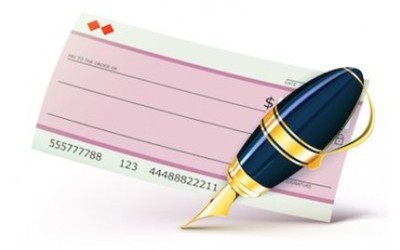 Assegno per la proposta d'acquisto di una casa