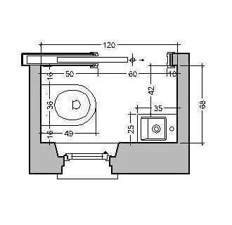 Idee per ristrutturare bagno dal micro bagno per ospiti