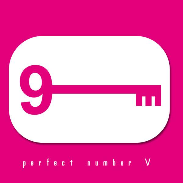 Sfondo rosa con la scritta Perfect Number e una chiave con ad una delle estremità il numero 9