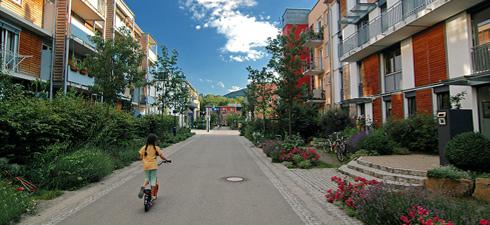 Quartieri senza auto, l'esempio di Vauban in Germania