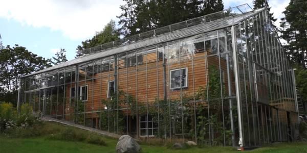 Naturhouse, la casa serra vicino a Stoccolma
