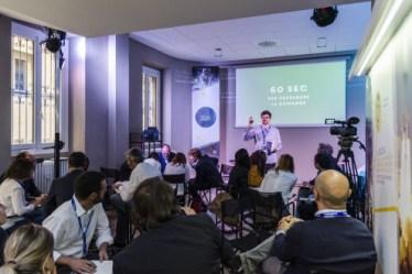 """""""Lezioni italiane"""" evento allo Spazio Spin di Milano, promosso da Unicredit (ott.2015)"""