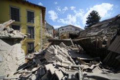 Foto Vincenzo Livieri - LaPresse 24-08-2016 Amatrice, Rieti (Italia).