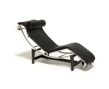 LC4 chaise longue di le Corbusier dai Maestri Cassina