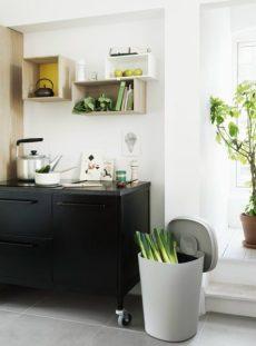 contenitore per la raccolta differenziata: l'organico in cucina