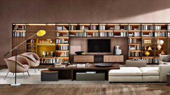 Tavolini da salotto in legno: la collezione Tetris di Molteni