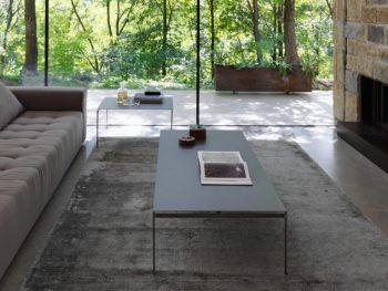 Torii, tavolino da salotto disegnato da Renato Zamberlan per Horm