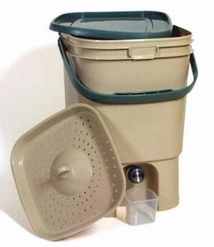 Secchio Bokashi per compost domestico fai da te