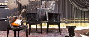 La star Lenny Kravitz si dedica al design