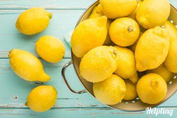 pulizie eco-friendly con limoni