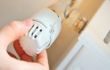 contabilizzazione del calore termovalvola installata su termosifone