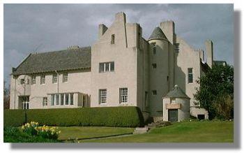 Hill House di Mackintosh Art Nouveau