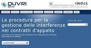 DUVRI Documento unico valutazione rischi da interferenze