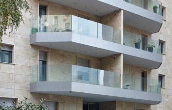 Balaustre in vetro per balconi terrazzi scale FOTO balaustra garda di aluvetro