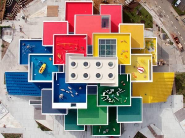 lego house, la casa di lego costruita in Danimarca