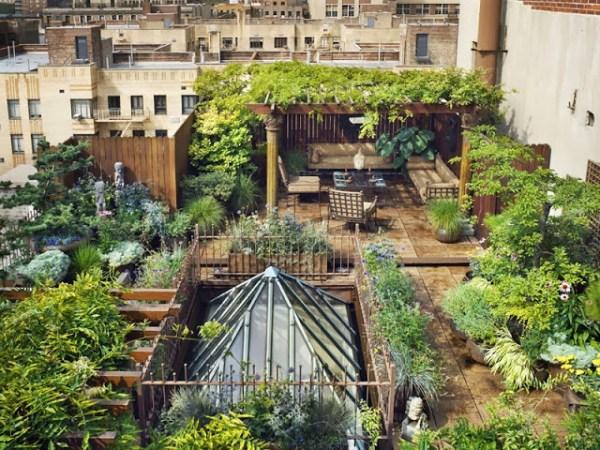 bonus verde copertura terrazzo condominiale con piante