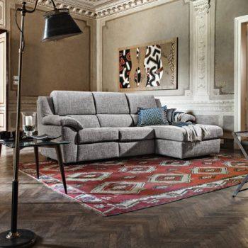 Rivestimenti in tessuto per divani FOTO Divano in tessuto sintetico Bastiglia di Poltrone e Sofà