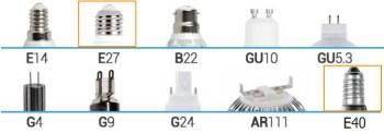 lampadina guida alla scelta Attacchi per lampadine