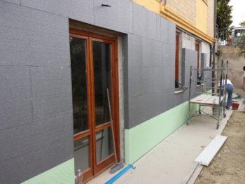 Isolare termicamente la casa: applicazione cappotto termico esterno