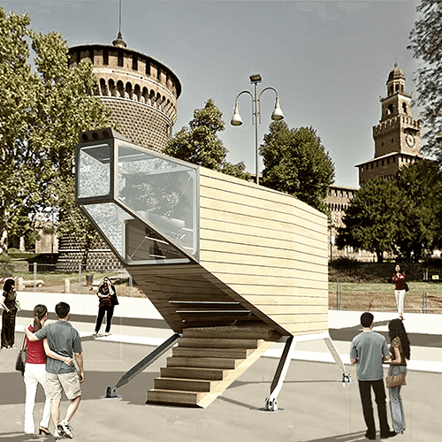 Milano City Design la casa del futuro Spaceship