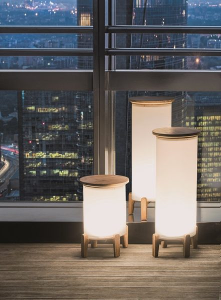 Salone del Mobile 2018 lampade Shake di Ethimo