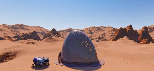 come progettare la casa su Marte: Casa su Marte del team Kahn Yates