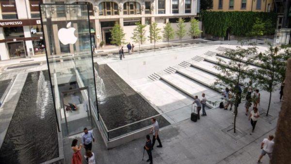nuovo Apple Store di Foster a Milano