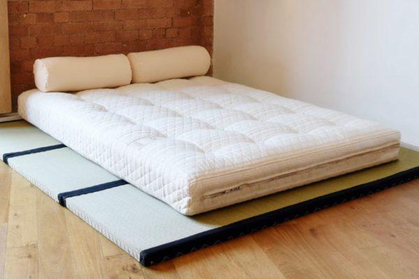 futon e tatami camera da letto giapponese: Futon moderno